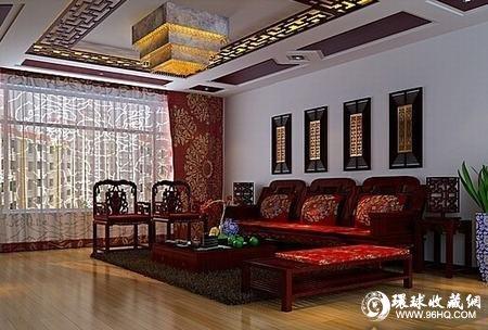 图片:红木家具