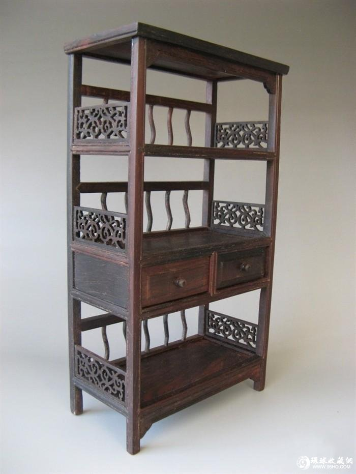 紫檀木书柜