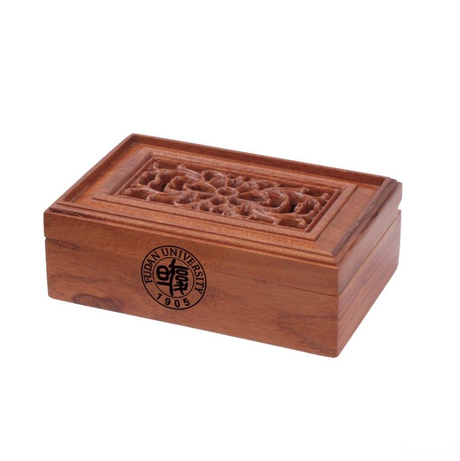 酸枝木名片盒图片