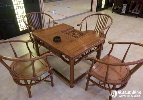 花梨木茶台图片