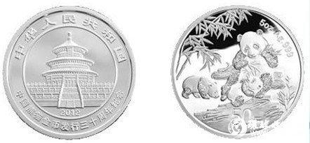 熊猫三十周年金银纪念币行情
