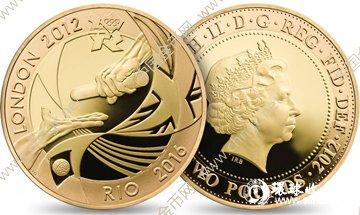 """奥运会交接""""金银纪念币"""