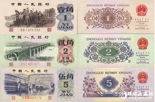 图片:第三套人民币