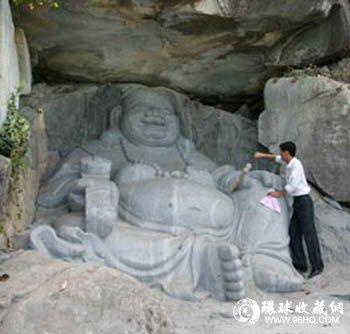 图片:弥勒佛像