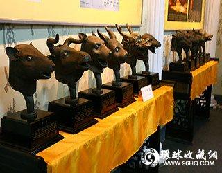 图片:圆明园流失兽首铜像