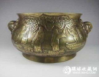 图片:古代铜炉