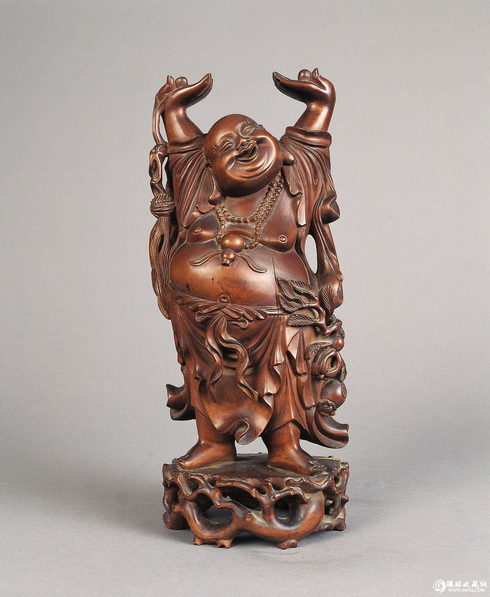 明清时代小型木雕摆件,建筑木雕装饰和木雕日用器物大为发展.