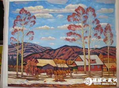 俄罗斯油画风景画
