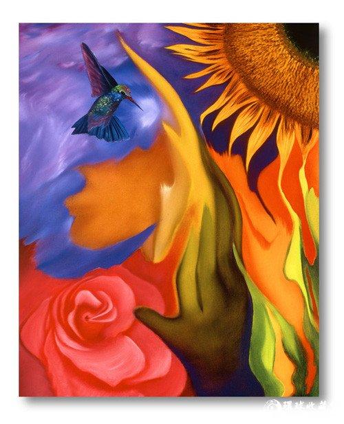 抽象油画图片,现代抽象油画,抽象派油画,抽象油画作品 环球...