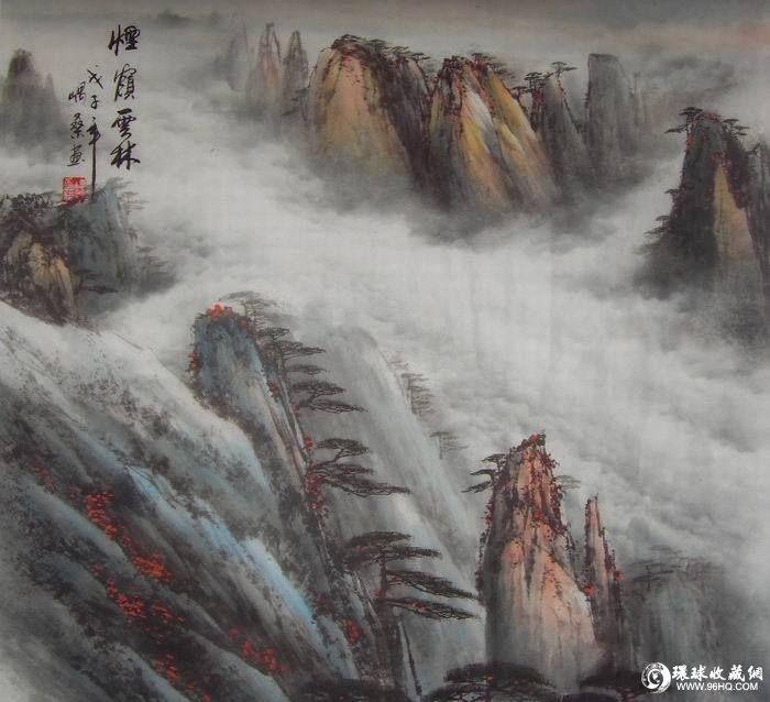 图片:国画山水