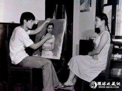 画家陈川为妹妹陈冲画肖像