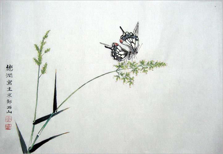 首页 新闻 艺术投资     工笔草虫画欣赏      一幅画作上几只小蝴蝶