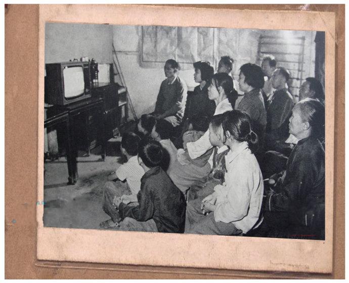 博物馆征集古董电视机