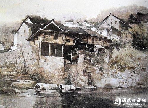 中国水彩画技法创新研究(2)