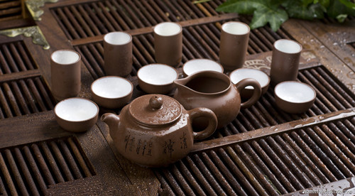 茶具收藏       茶具发展史(四):   四,结束语      古代茶具与