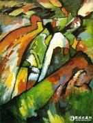 抽象派油画之父:康定斯基作品赏
