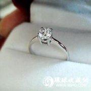 结婚戒指 铂金最中意