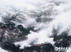 朱颂民西藏山水新作将亮相第十七
