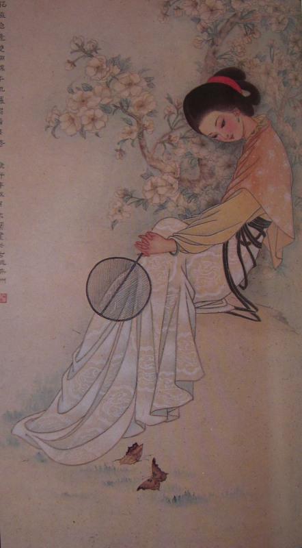 王木兰 工笔仕女图   王木兰 工笔仕女图
