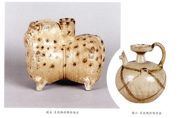 瓷器,是中国古代先民的一大发明。考古发现表明,越窑青瓷系商周至秦汉时越人所烧制的原始青瓷。然而,从东汉末年到三国东吴晚期,短短几十年的时间内,工匠们以氧化铁为呈色剂,施于釉下或釉上,竟然烧制出了精美的彩绘青瓷,从西晋到东晋,青瓷褐彩已十分流行,成为时代的标志。   苏州东吴博物馆馆藏有三十多件褐彩青瓷,代表了两晋时期越窑青瓷的装饰特点,现将其中的典型器物进行初步赏析,以飨广大青瓷爱好者。   1.