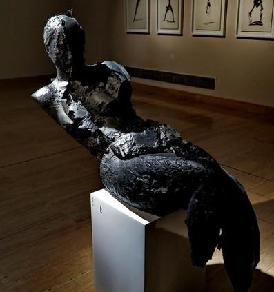 雕塑家张峰作品
