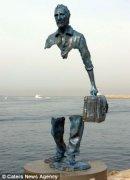 法艺术家创作隐形雕塑 给人绝妙