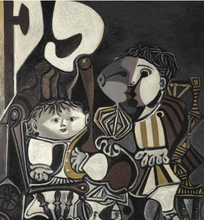 [转载]购毕加索《两个小孩》万达迈出国际收藏的步伐