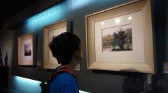 """王锐""""诗意的风景――绘画作品展"""