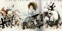 中国冰雪山水画之父于志学及其作品
