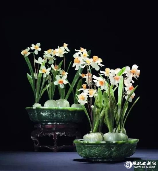 水仙花盆栽的钩法