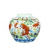 曾是全球最贵瓷器 鱼藻纹大罐再