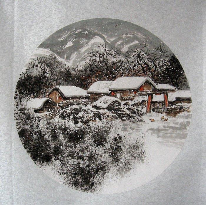 山水国画2